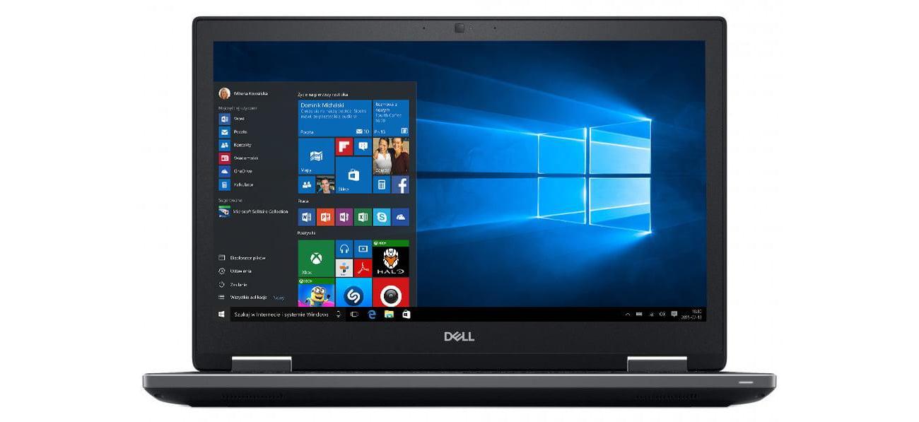 Dell Precision M7530  Intel® Core™ ósmej generacji