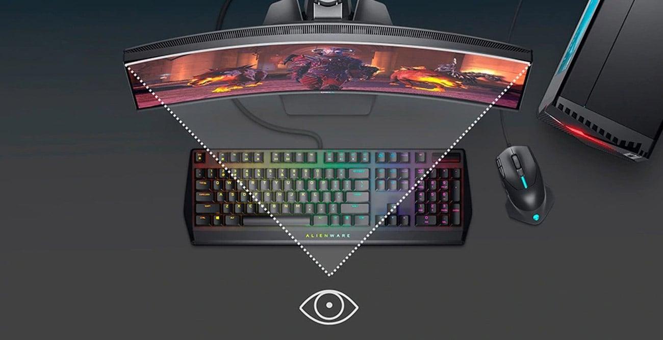 Monitor dla gracza Dell S2721HGF Curved