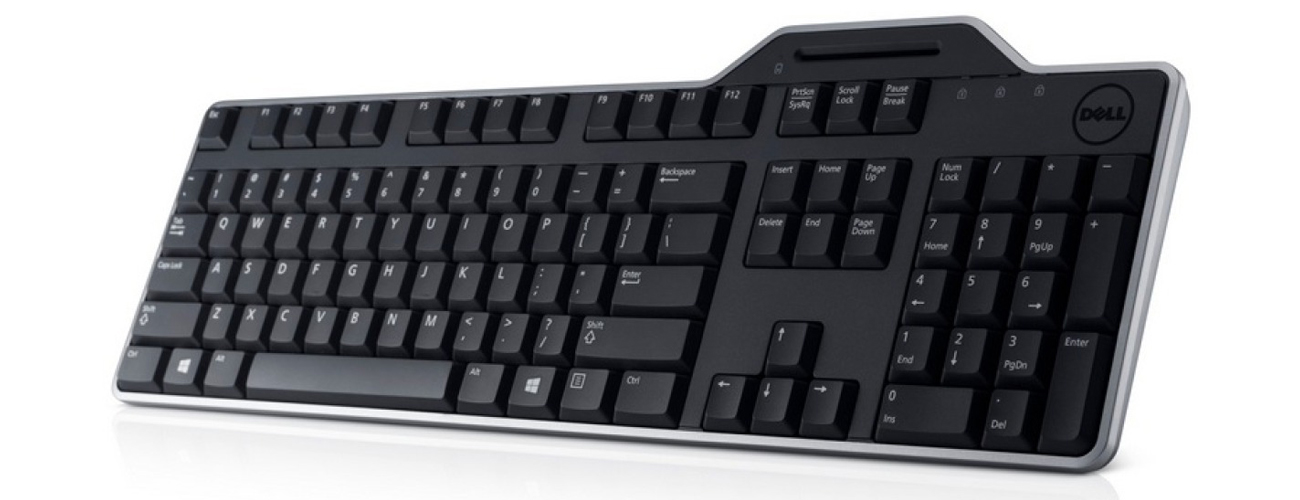 Dell Smartcard Keyboard KB813 Ciche klawisze