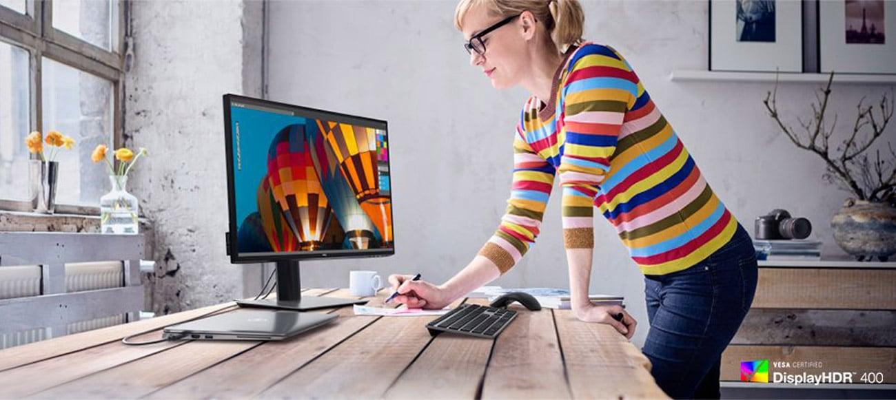 Monitor do obróbki grafiki i zdjęć Dell U2520D HDR
