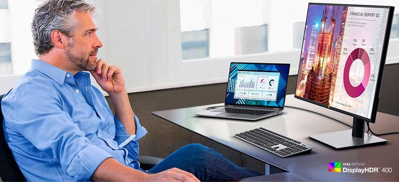 Monitor dla grafika i fotografa Dell U2720Q HDR