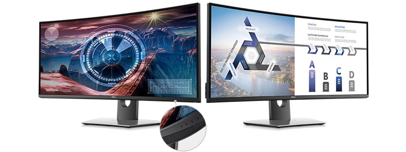 Dell U3417W sRGB