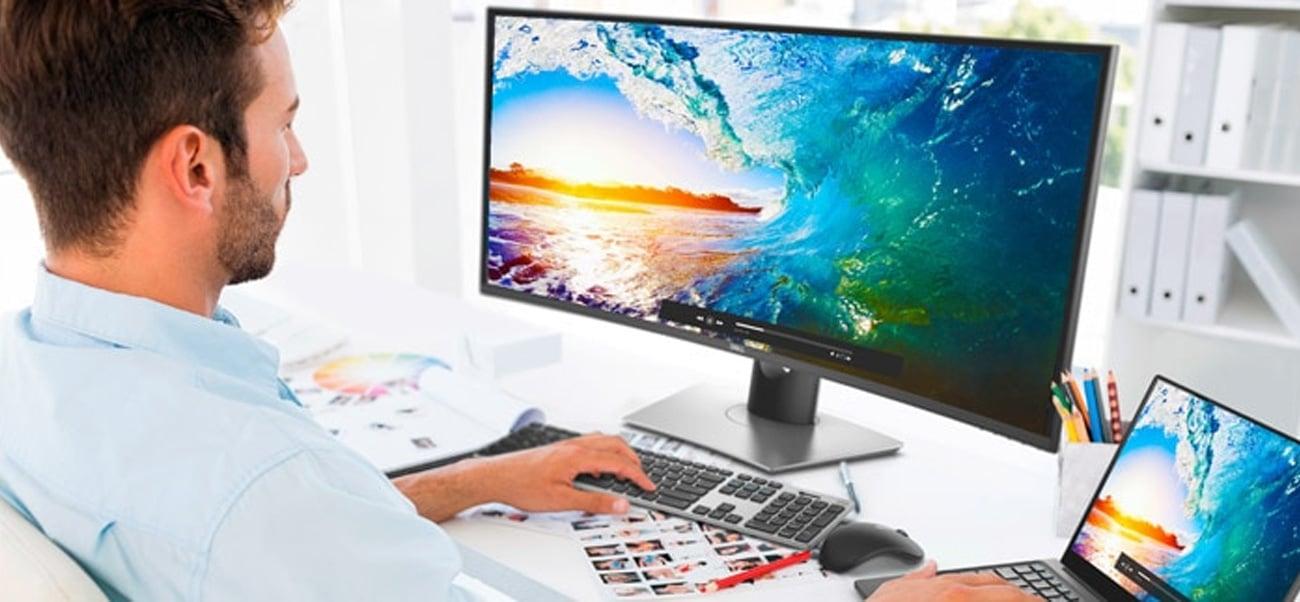 Dell U3818DW Możliwości