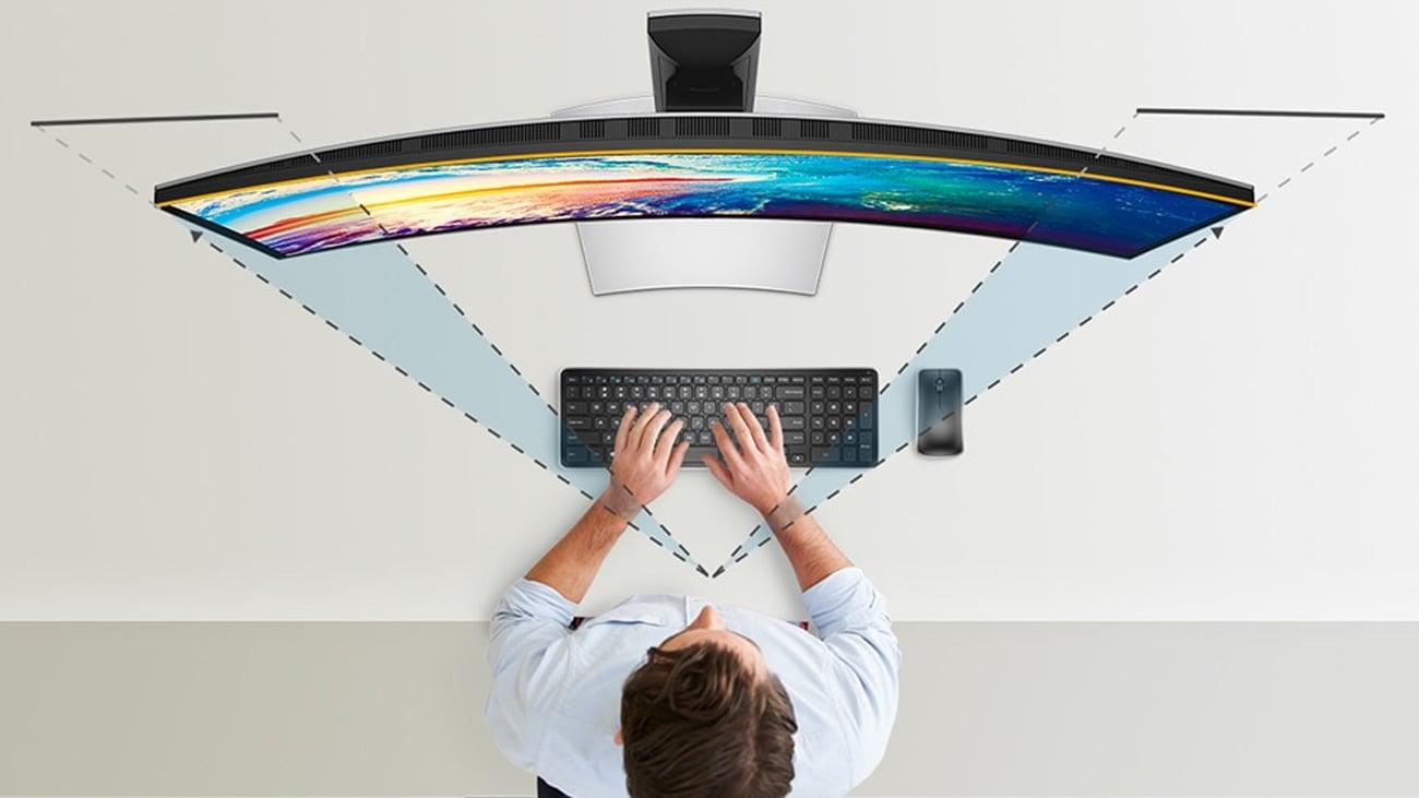 Dell U3818DW Wydajność