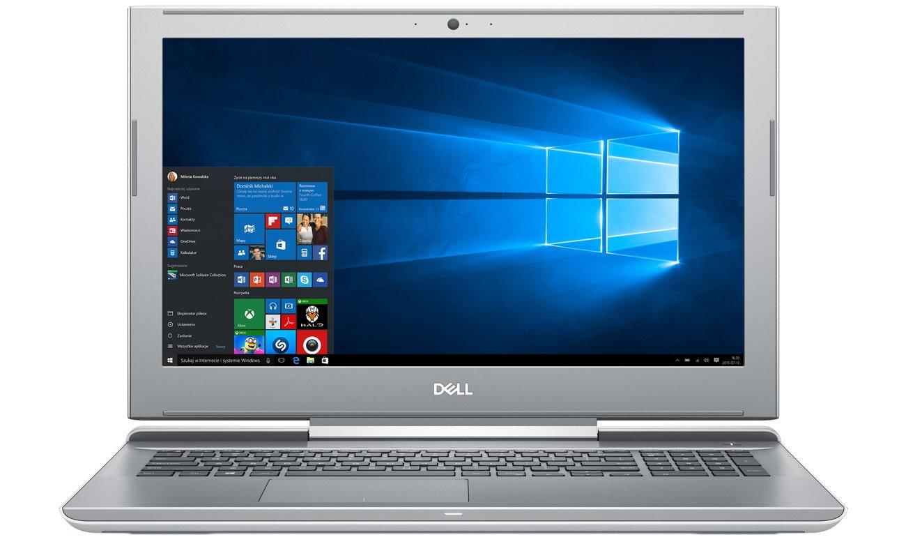 Dell Vostro 7570 laptop z podświetlaną klawiaturą