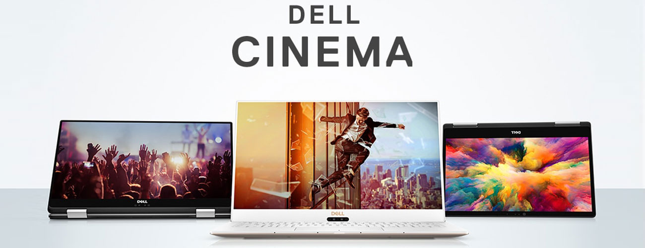 Dell XPS 15 9570 Technologie Dell Cinema