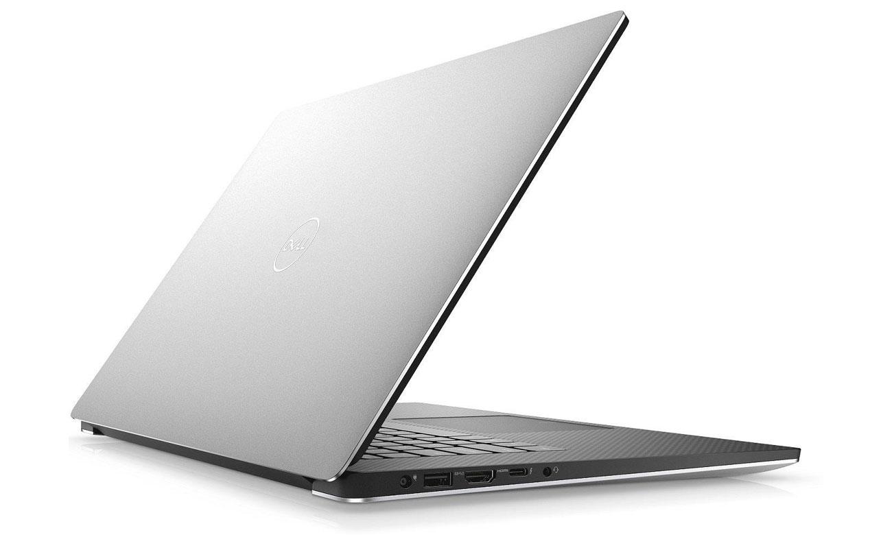 Dell XPS 15 9570 Staranne wykonanie z materiałów najwyższej jakości