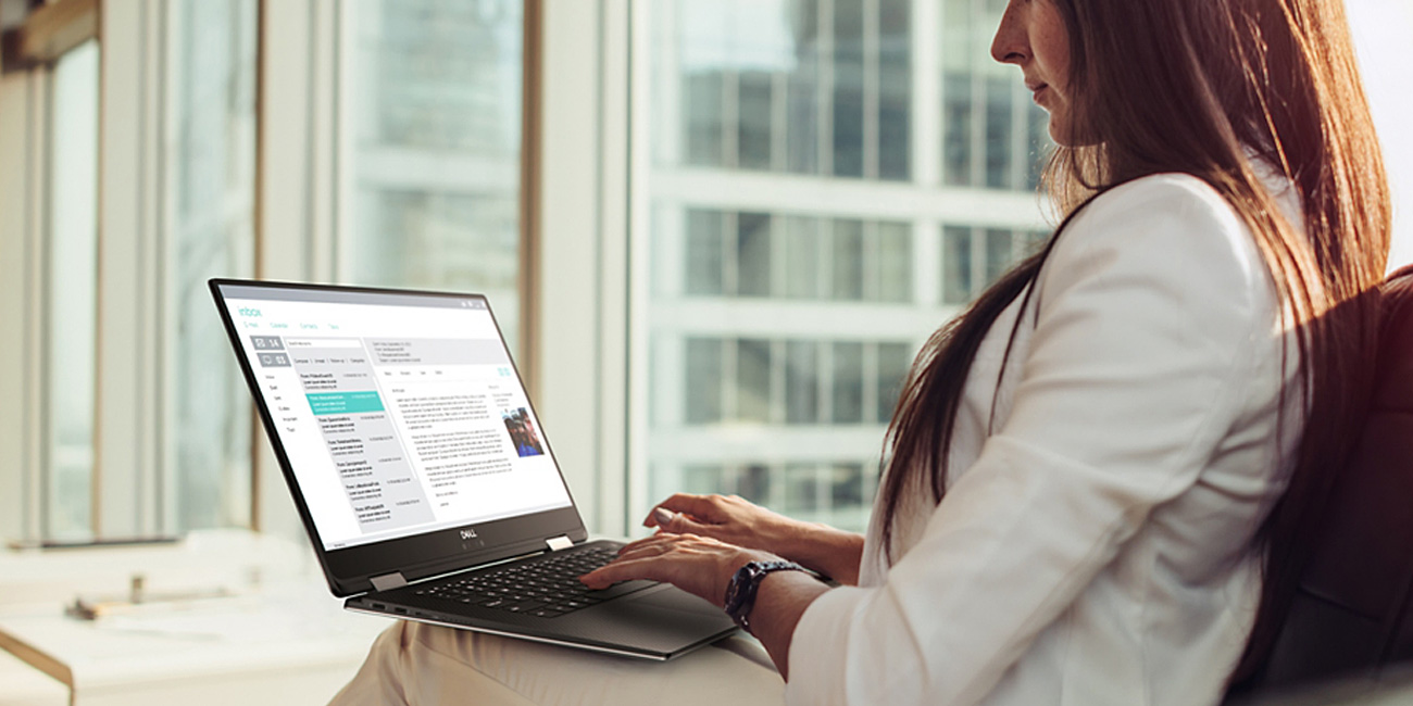 Dell XPS 9575 Lekka i mobilna konstrukcja