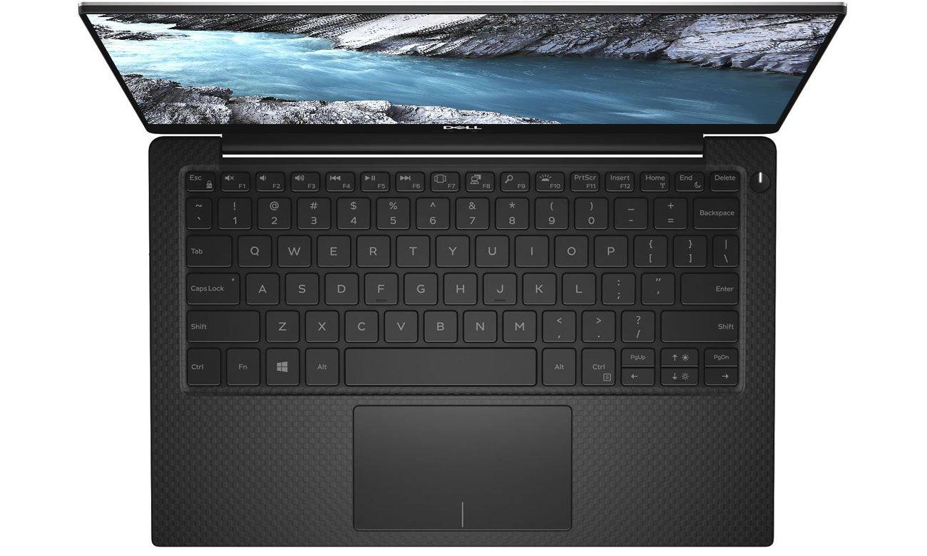 Ultrabook Dell XPS 13 wytrzymała konstrukcjia, aluminium, włókno węglowe, szkło