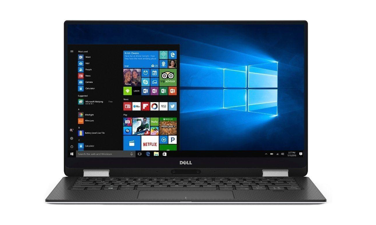 Dell XPS 13 9365 podświetlana klawiatura