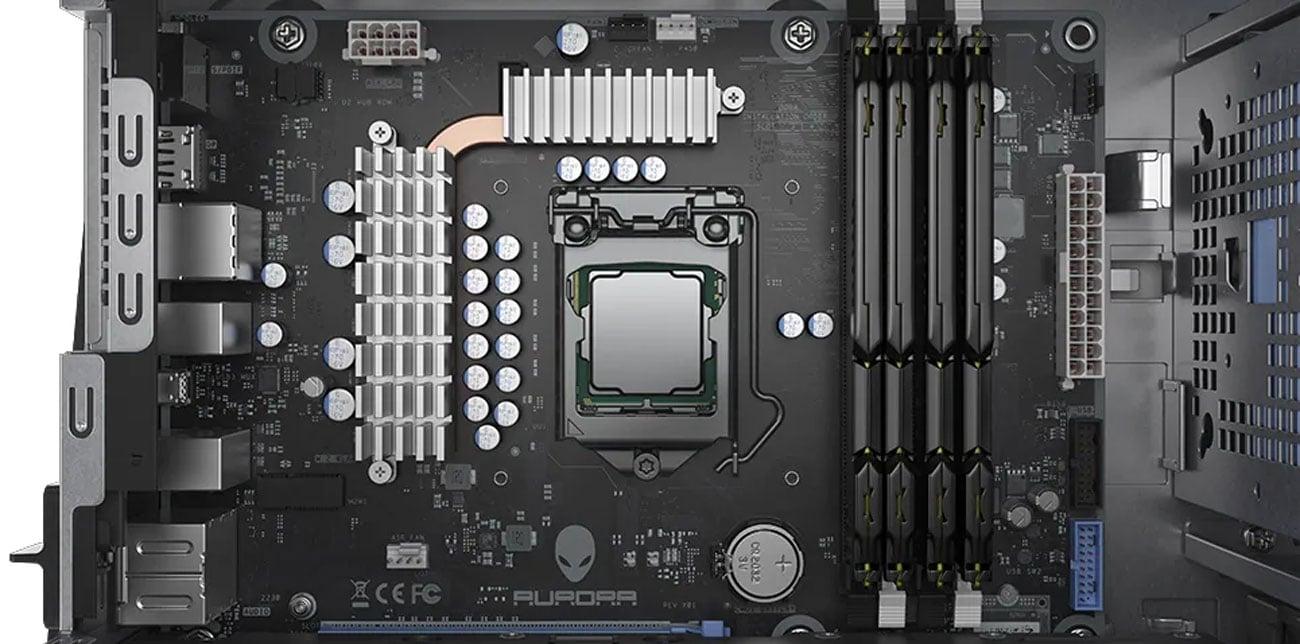 Dell Alienware Aurora procesor