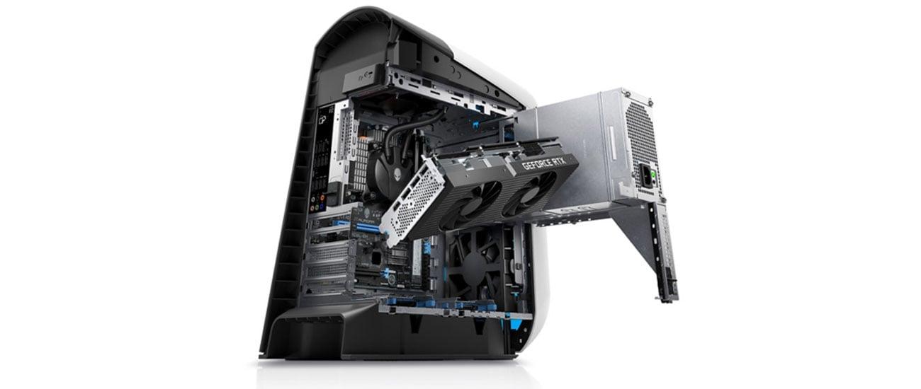 Dell Alienware Aurora chłodzenie karty graficznej