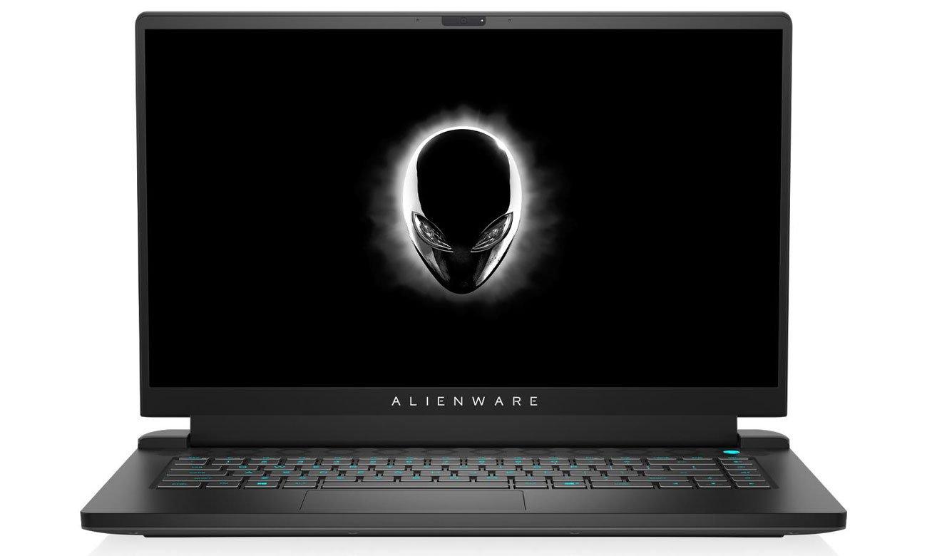 Dell Alienware M15 ekran klawiatura