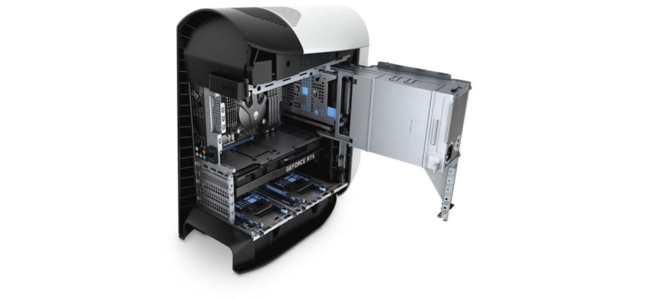 Wydajne chłodzenie Dell Alienware Aurora