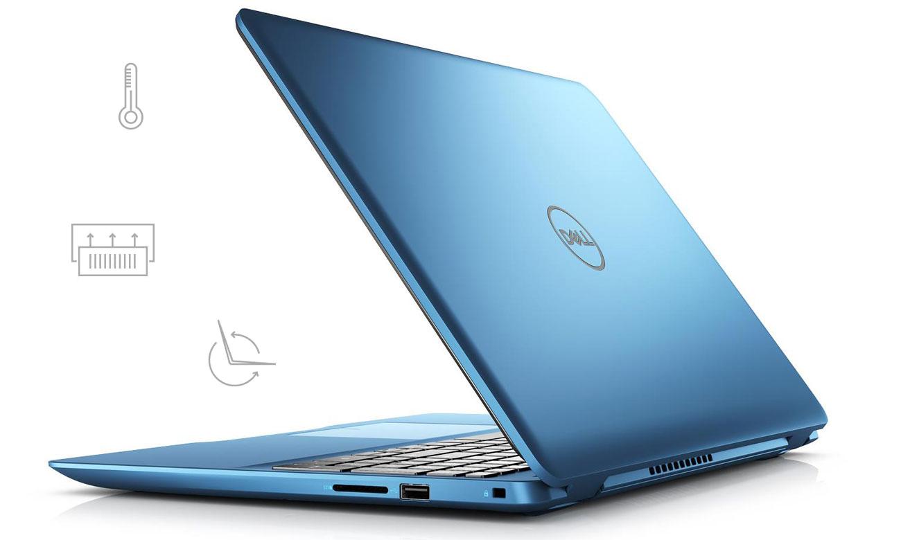 Dell Inspiron został stworzony z myślą o zapewnieniu niezawodnej wydajności