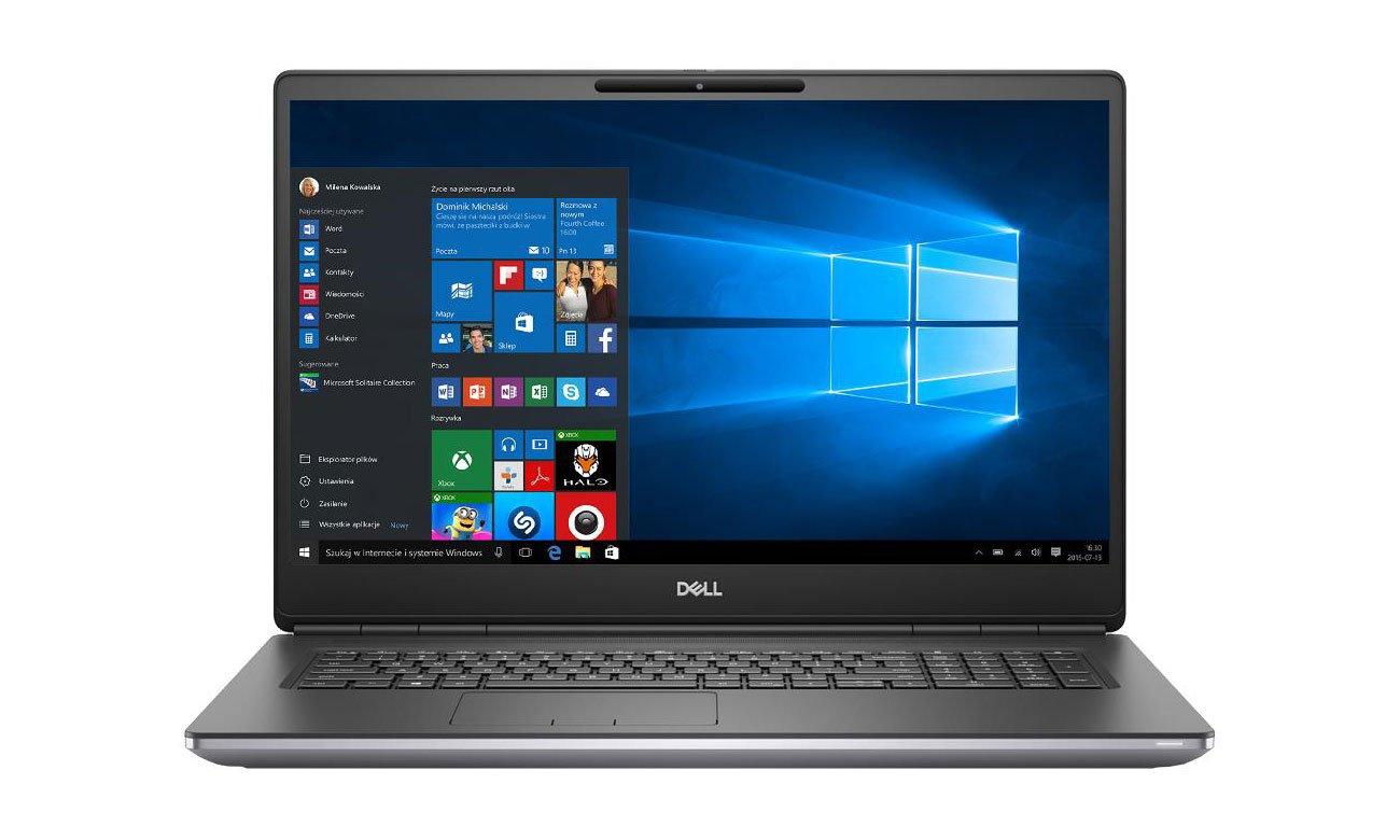 Laptop do projektowania graficznego Dell Precision 7750