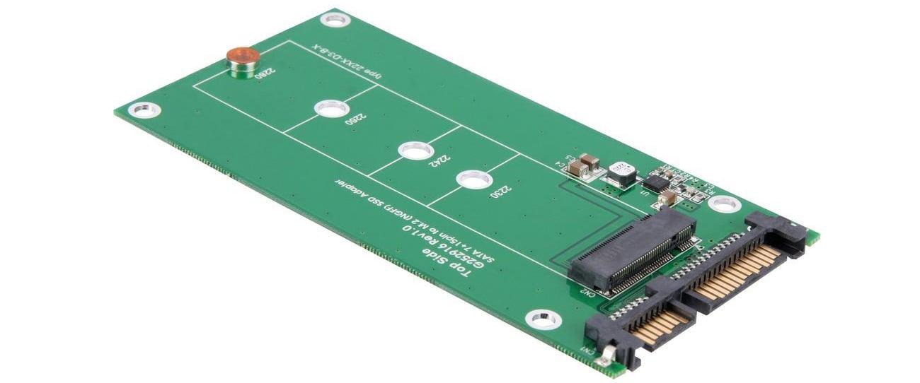 Delock Adapter SATA 22PIN