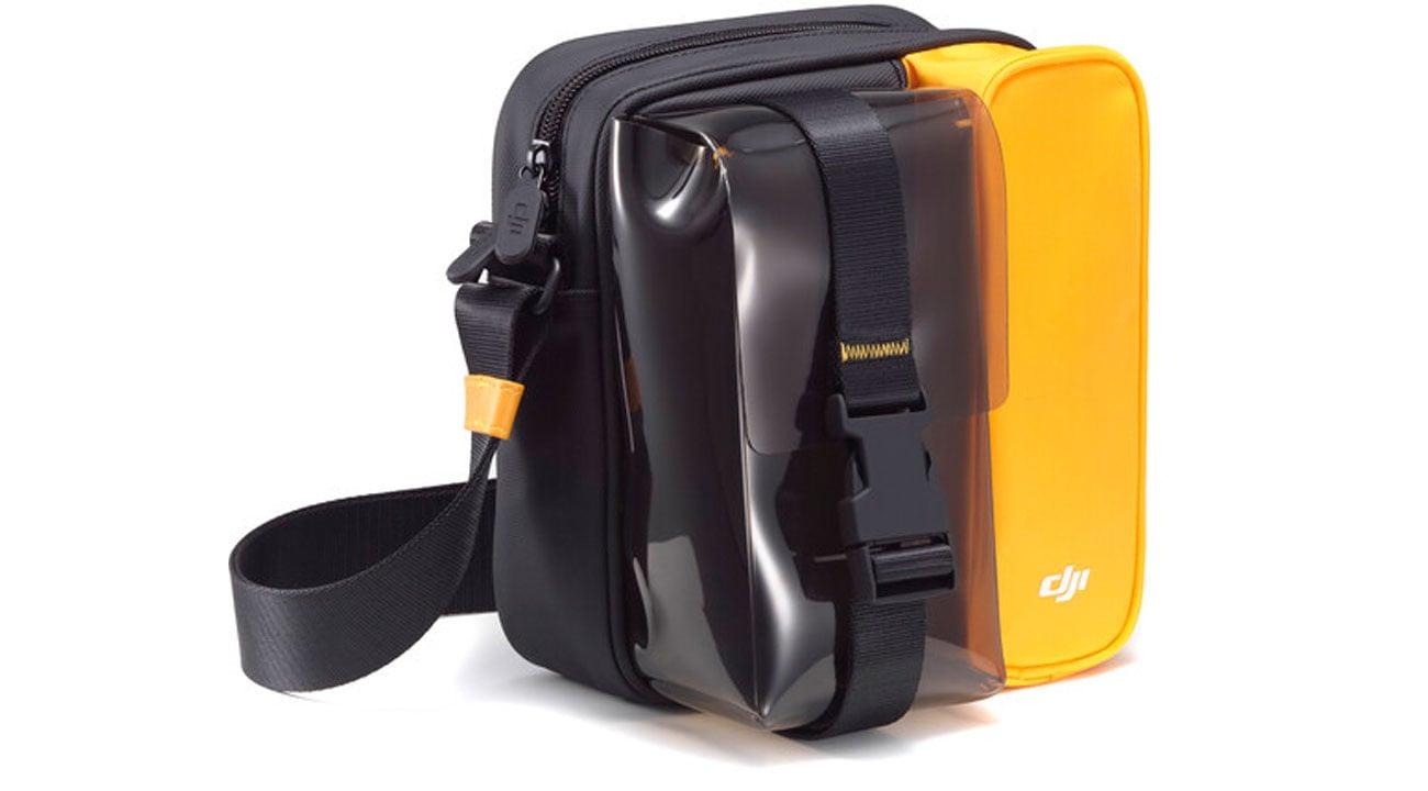 """Torba DJI """"Plus"""" do drona Mini 2 Czarno-żółta"""