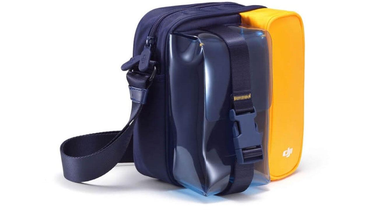 """Torba DJI """"Plus"""" do drona Mini 2 Niebiesko-żółta"""