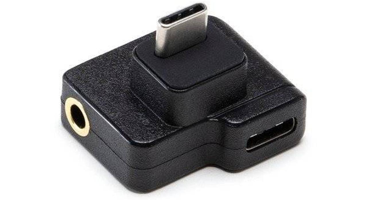 Adapter do zewnętrznych mikrofonów DJI Dual do Osmo Action