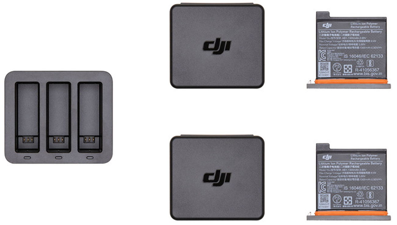 Zestaw Charging Kit do DJI Osmo Action