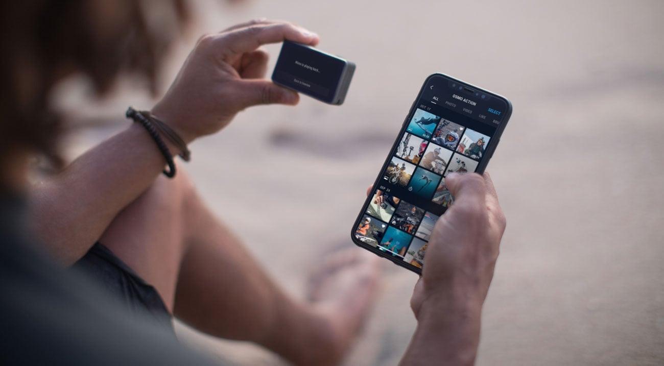 Aplikacja DJI Mimo App
