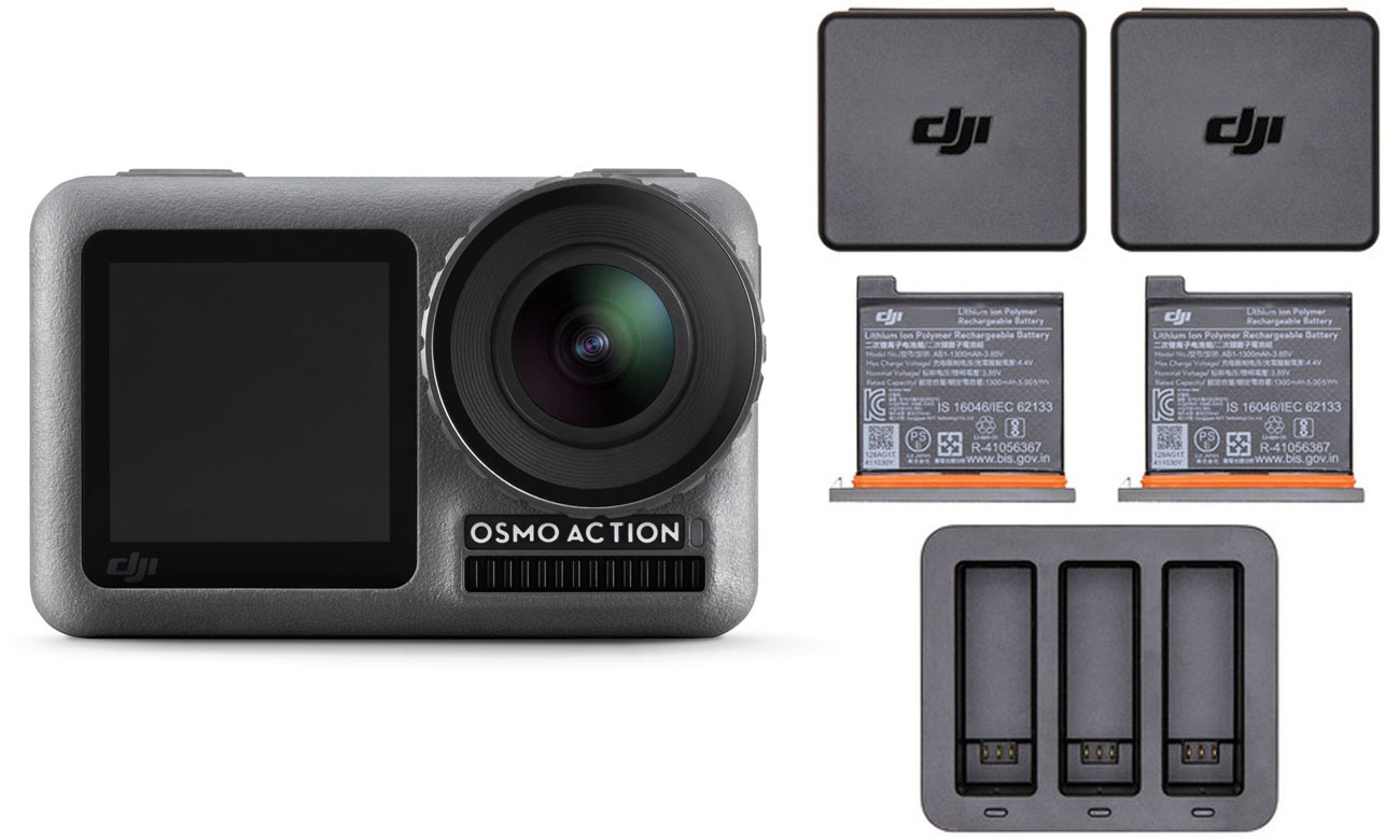 Zestaw DJI Osmo Action + Charging Kit