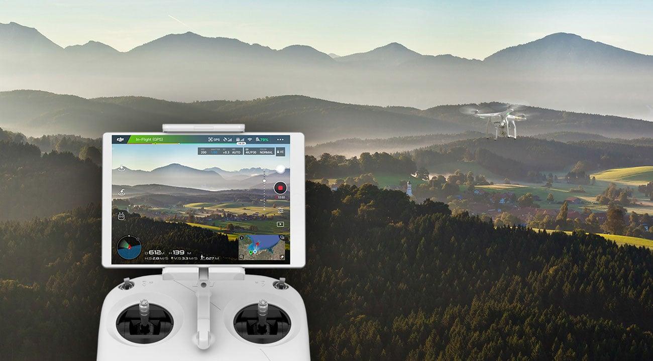 DJI Phantom 3 SE Kontroler Wi-Fi