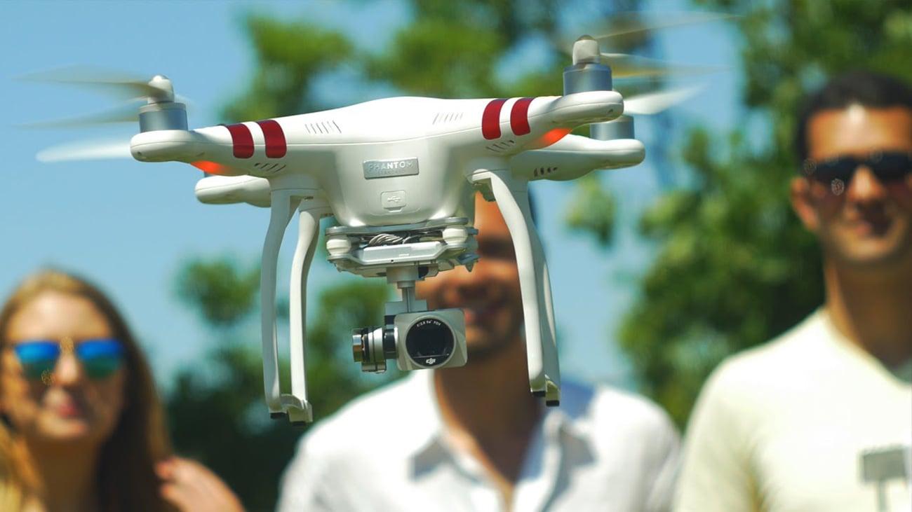 Dron DJI Phantom 3 Standard Asystent lotu