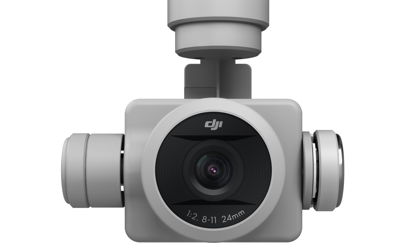 Dron DJI Phantom 4 Pro kamera