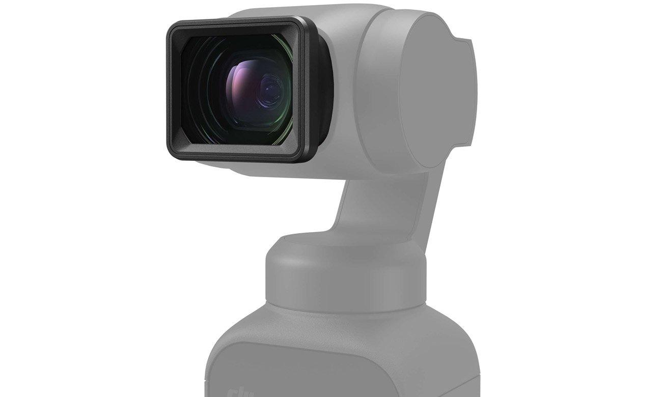 Obiektyw szerokokątny do kamery DJI Pocket 2