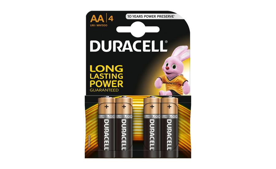 Bateria Duracell Basic AA/LR6 4 szt.