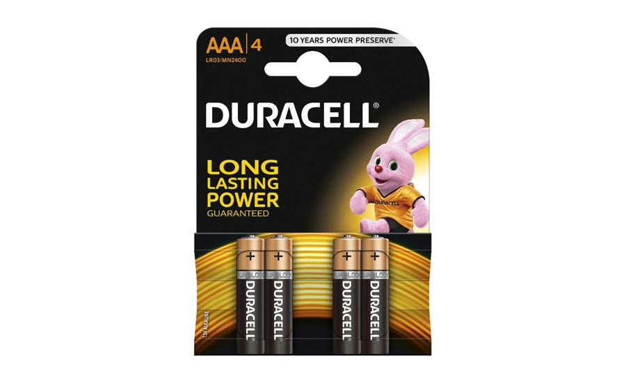 Baterie Duracell Basic AAA/LR03 4 szt. 102809