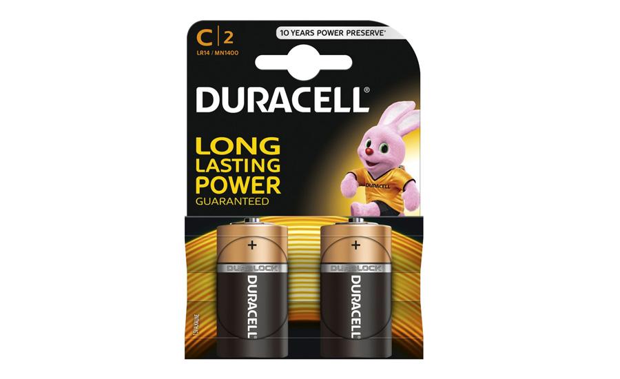 Bateria Duracell Basic C/LR14 2 szt.
