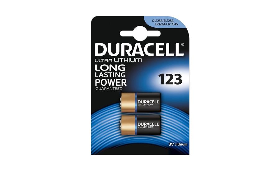 Baterie Duracell Photo CR123