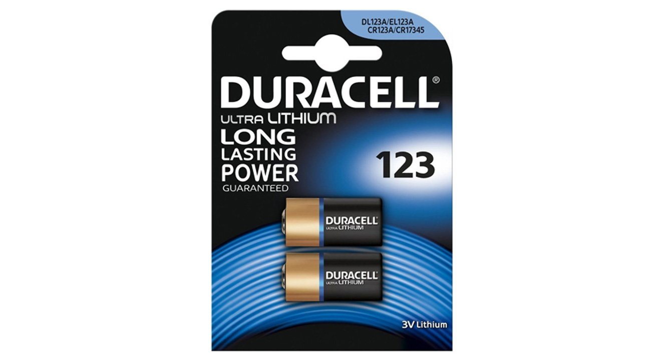 Baterie Duracell Photo CR123