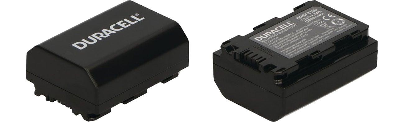 Akumulator do aparatu Duracell Zamiennik Sony NP-FZ100 DRSFZ100