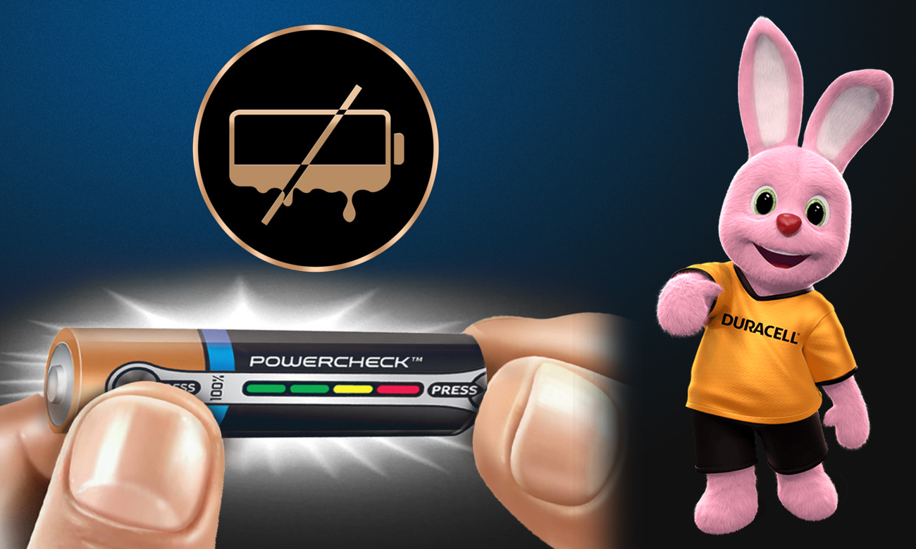 Duracell Turbo Max AAA/LR03 Technologia POWERCHECK