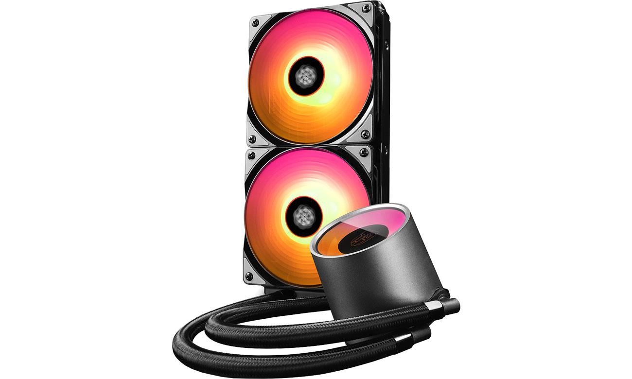 Chłodzenie wodne Deepcool Castle 240RGB DP-GS-H12L-CSL240RGB