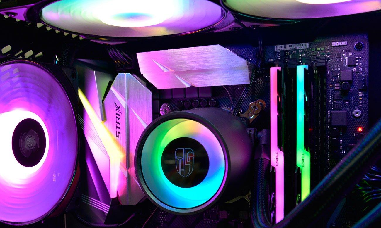 Deepcool Castle 240RGB Podświetlenie RGB