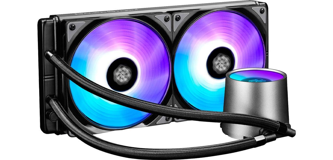 Chłodzenie wodne Deepcool Castle 280RGB DP-GS-H12L-CSL280RGB