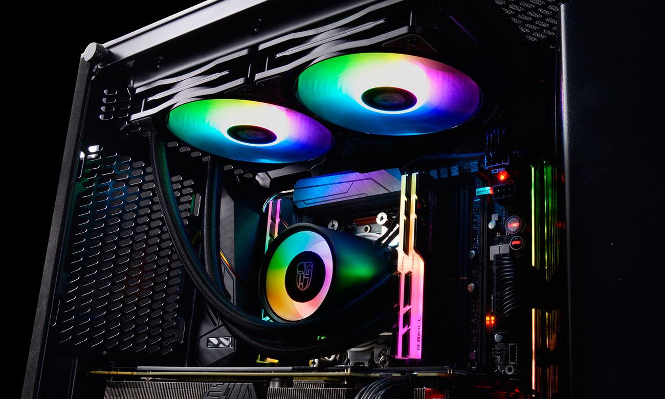 Deepcool Castle 280RGB Podświetlenie RGB