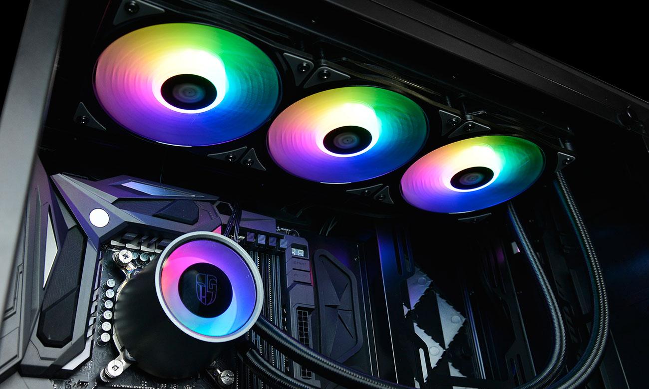 Deepcool Castle 360RGB Podświetlenie RGB