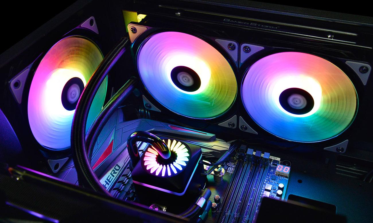 Deepcool Captain 240 PRO Podświetlenie RGB