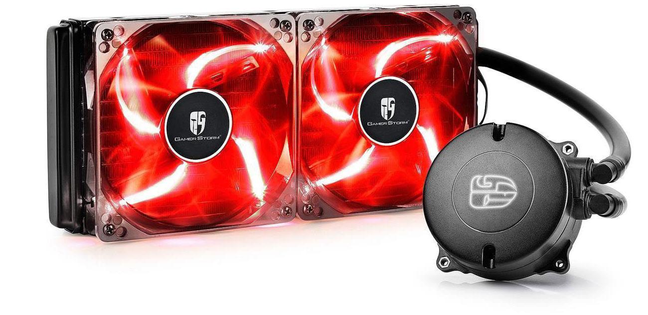Chłodzenie wodne Deepcool Maelstrom 240T Red DP-GS-H12RL-MS240T-RED