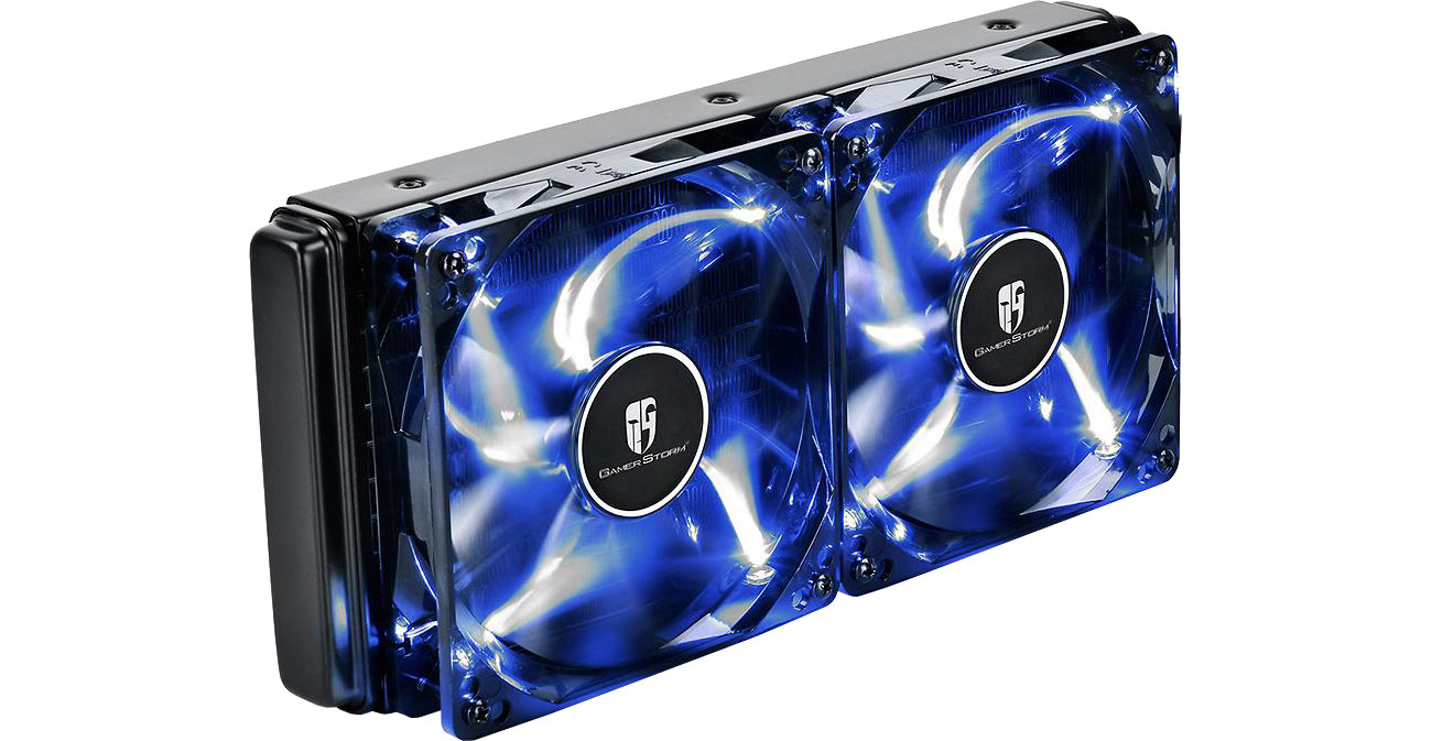 Deepcool Maelstrom 240T Radiator 240 mm i dwa wentylatory 120 mm