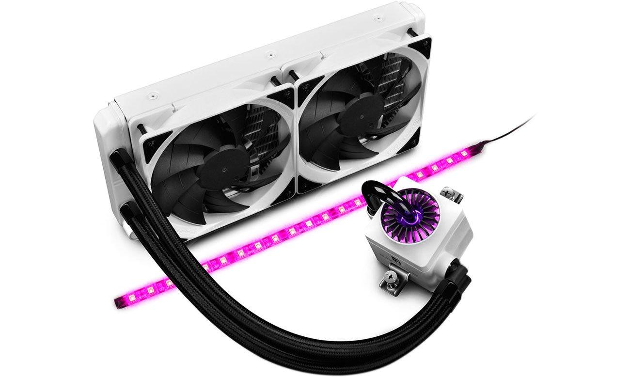 Deepcool Captain 240EX Podświetlenie RGB