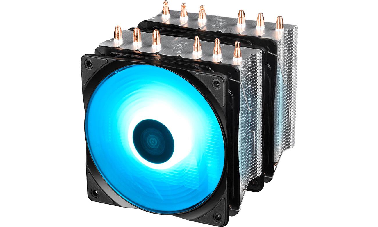 Chłodzenie procesora Deepcool Neptwin RGB DP-MCH6-NT-A4RGB