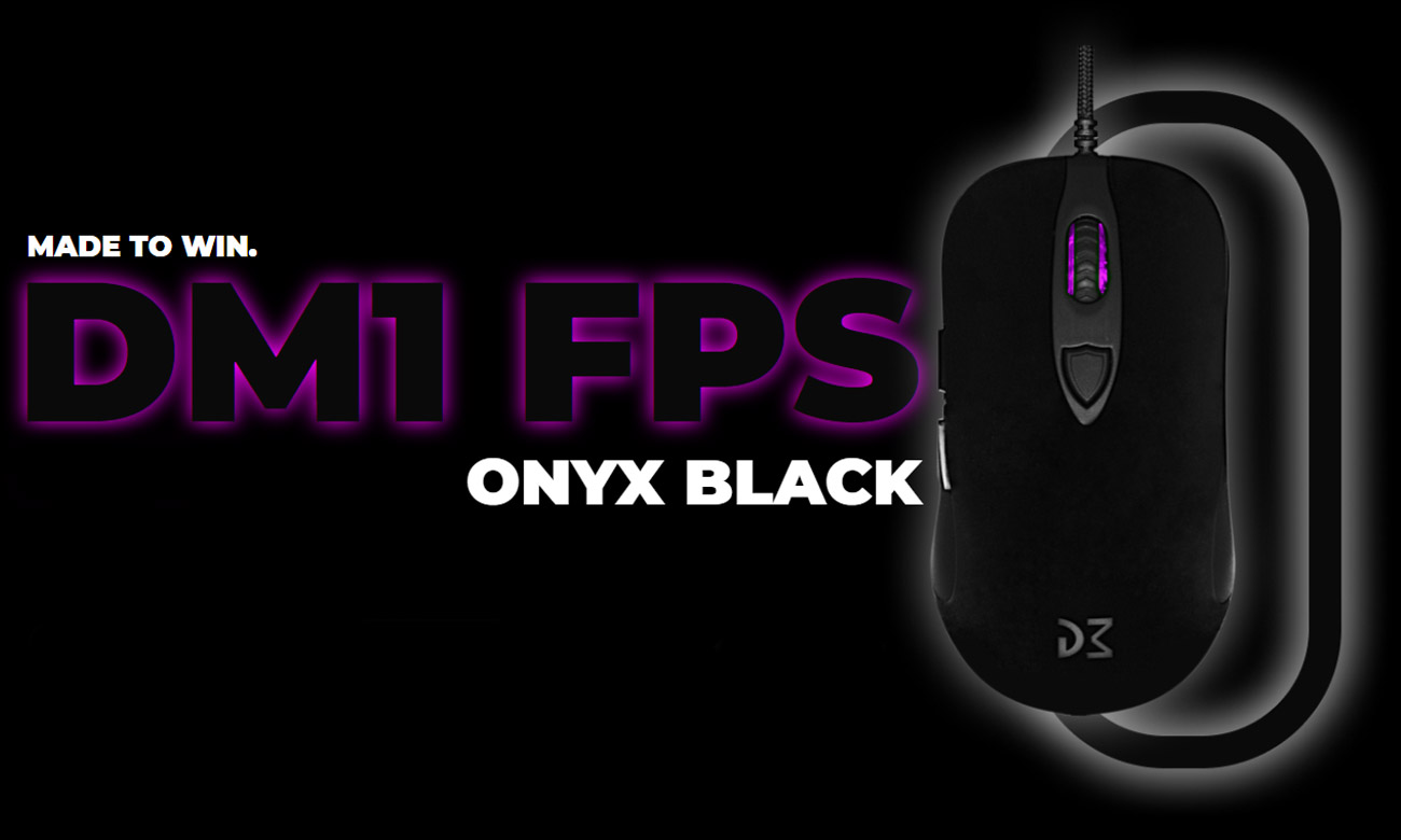 Mysz dla graczy Dream Machines DM1 FPS Onyx Black