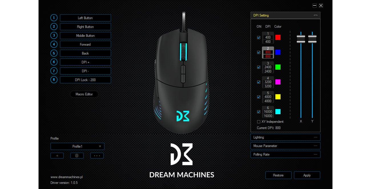 DreamMachines DM5 Blink